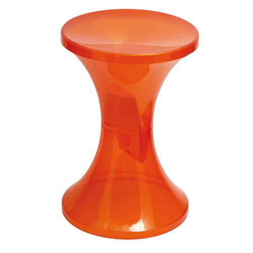 Tam Tam Kristal Tabouret Branex Design Orange