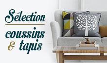 Sélection coussins & tapis