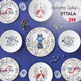 Assiette Taïka IITTALA
