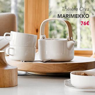 Théière Oiva Marimekko